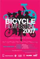 Bicycle Film Festival 2007 poster