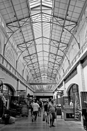 interior photo of SF Ferry Building, 2004