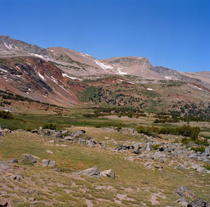 landscape near Parker Pass, Yosemite Wilderness