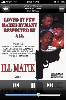 Ill Matik album cover art