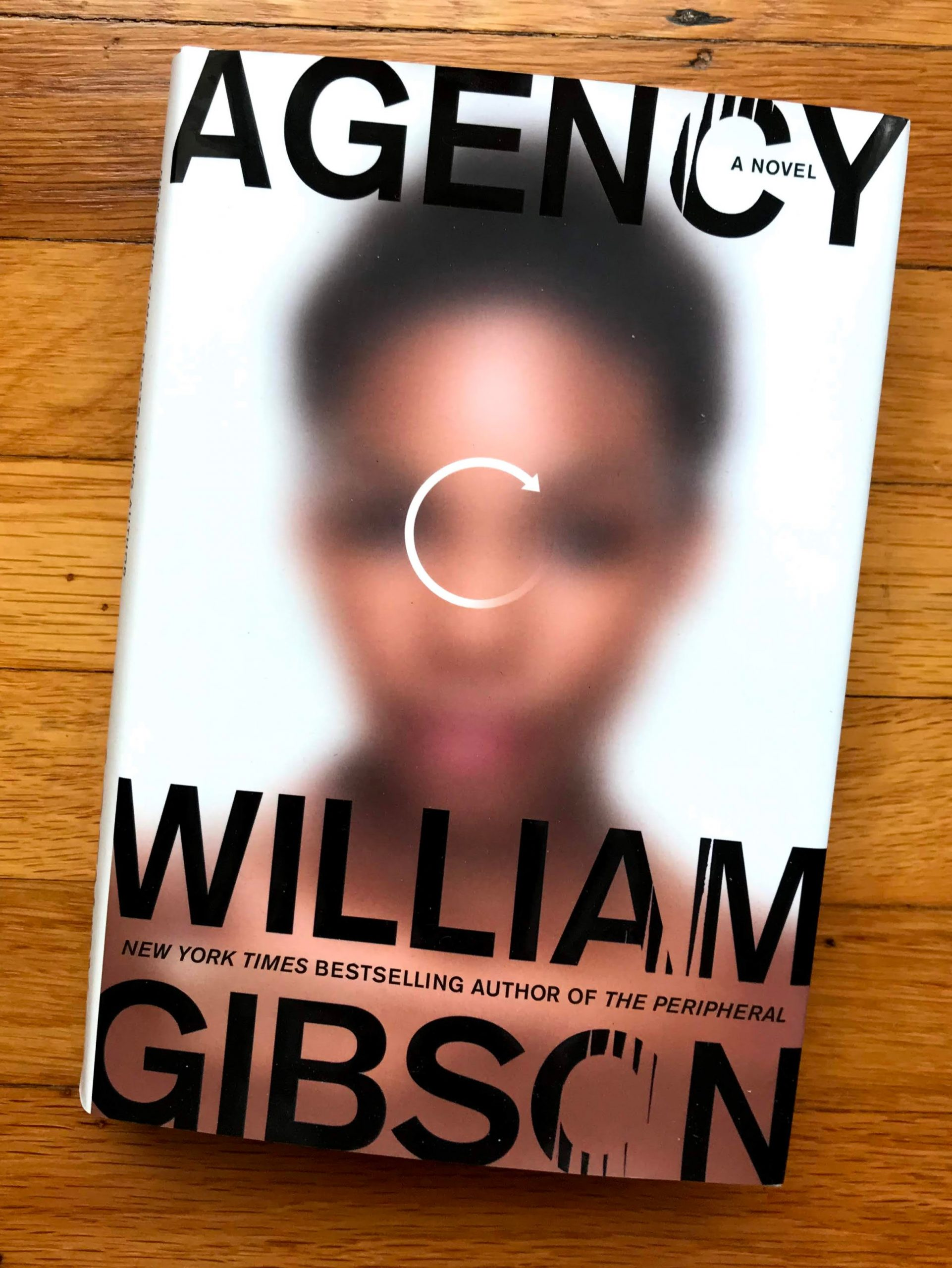 Cover of the novel Agency, by William Gibson