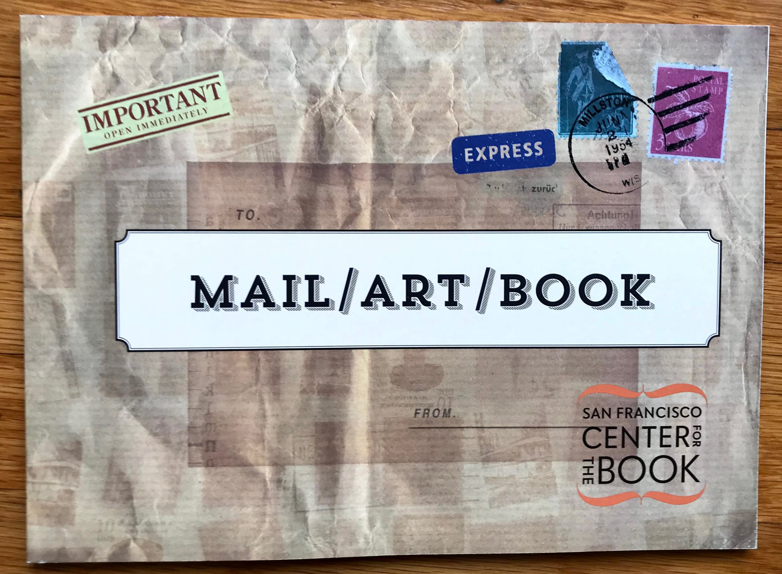 Cover of Mail / Art / Book