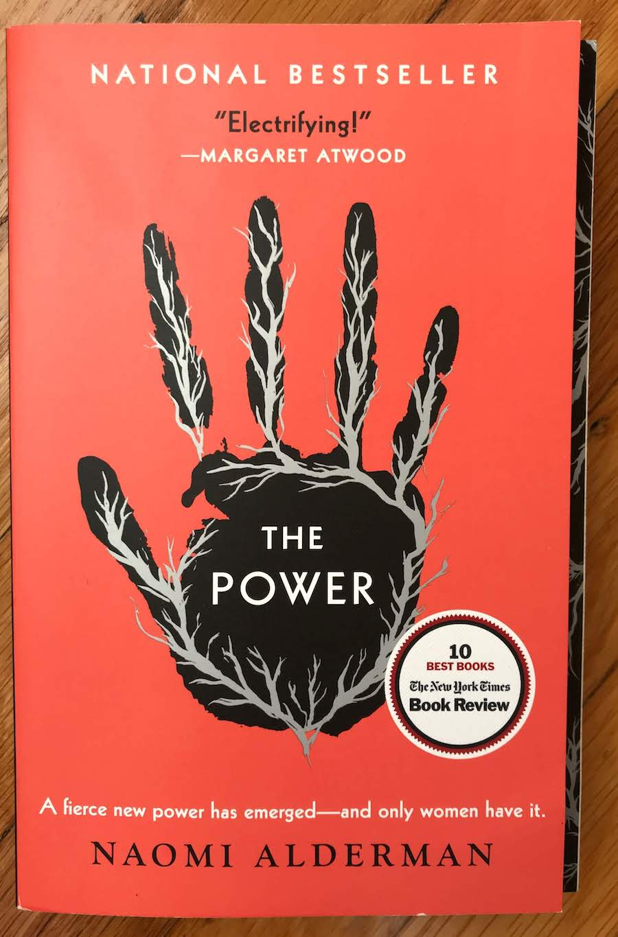 Cover of The Power by Naomi Alderman